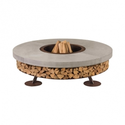 ercole wood burning outdoor fire pit ak47