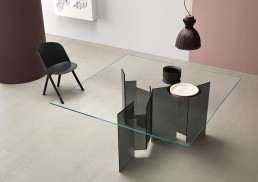 Tonelli Design Metropolis Table Base Fume