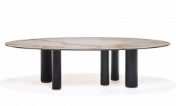 roll keramik table cattelan