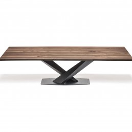 stratos wood CATTELAN TABLE
