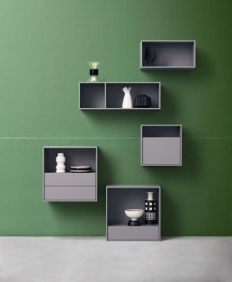 Alf DaFrè Domino Wall mounted Storage Units