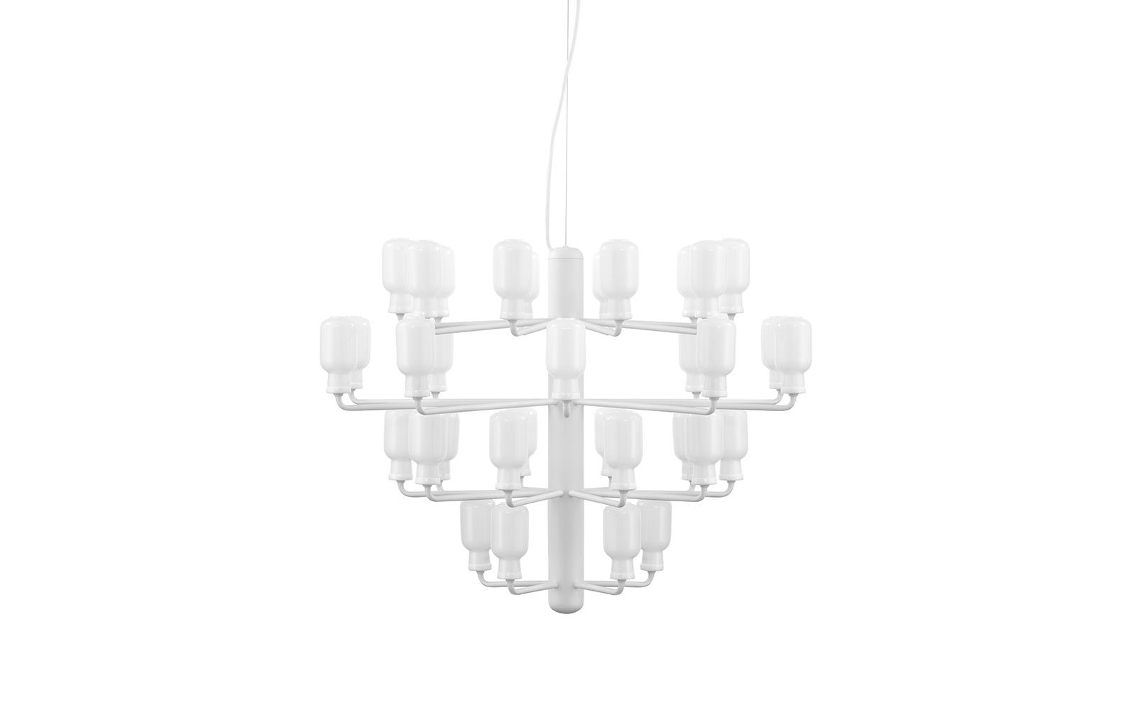 Amp Chandelier Large EU White White