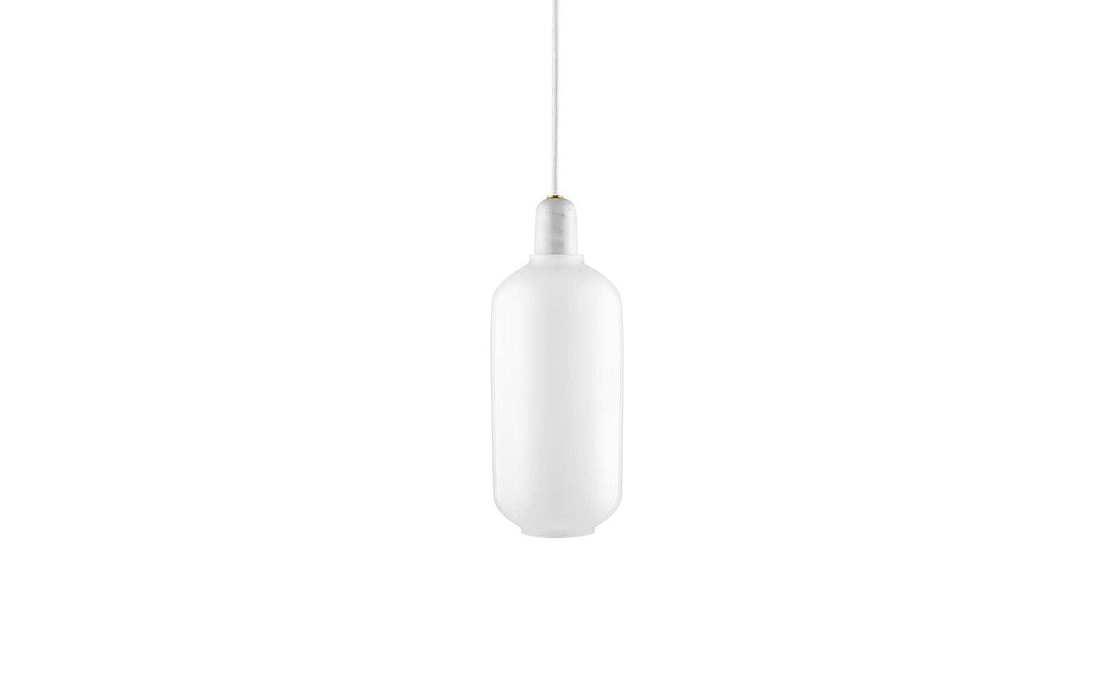 Amp Lamp Large White White