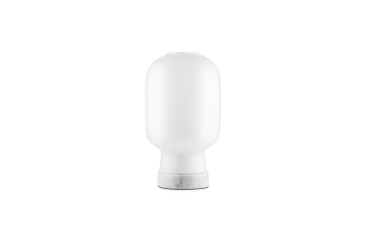 Amp Table Lamp EU White White