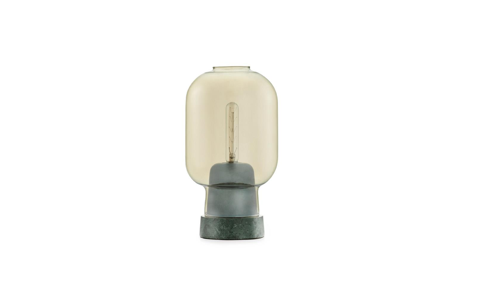 Amp Table Lamp EUGold Green