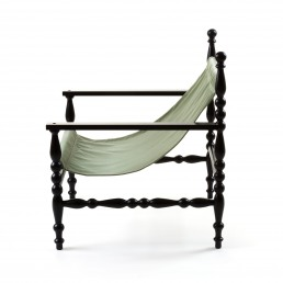 Armchair Seletti Heritage Green Front