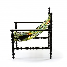 Armchair Seletti Heritage Parrots Front