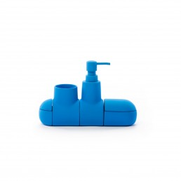 Bathroom Accessory Set Seletti Submarino Blue