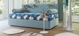 Bed Bonaldo Peggy Blue