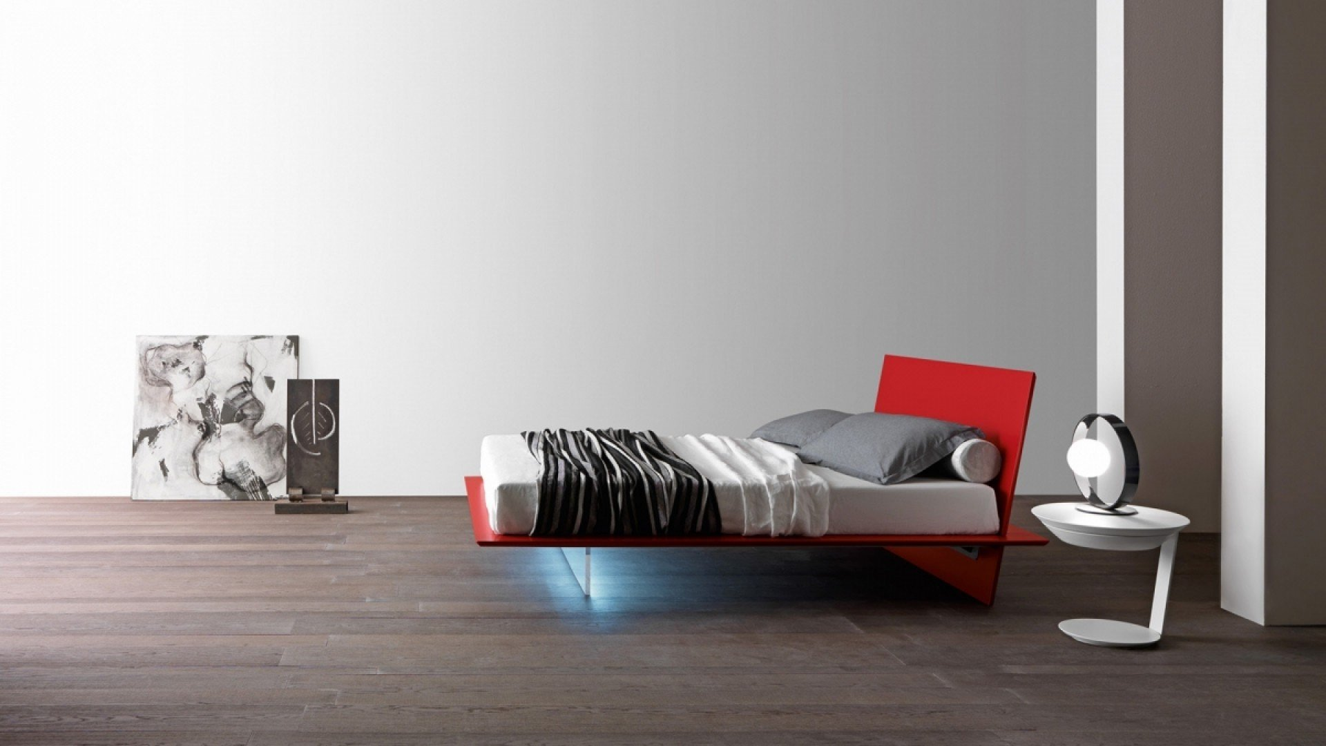 Bed Plana Rosso