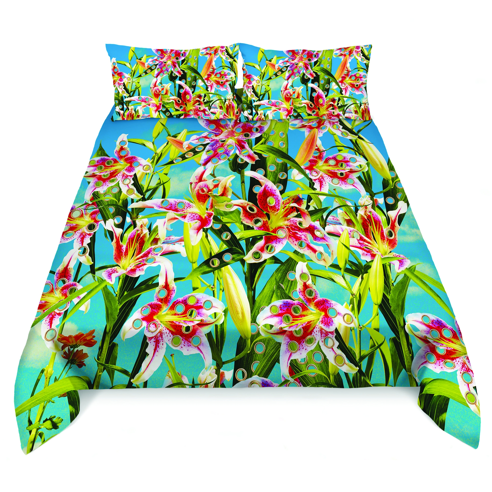 Bedding Set Seletti Flowers with Holes