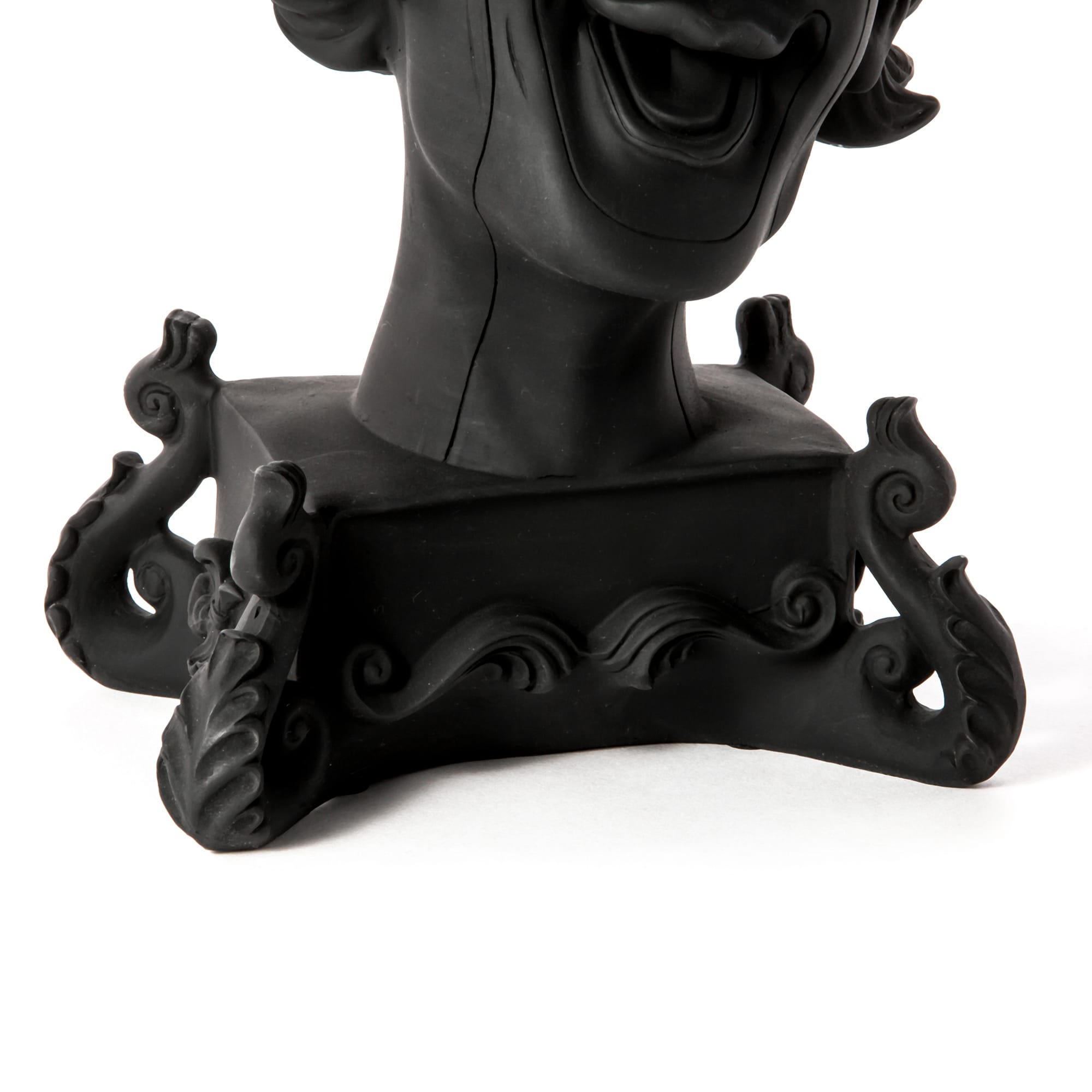 Candle Holder Clown Black Detail Seletti