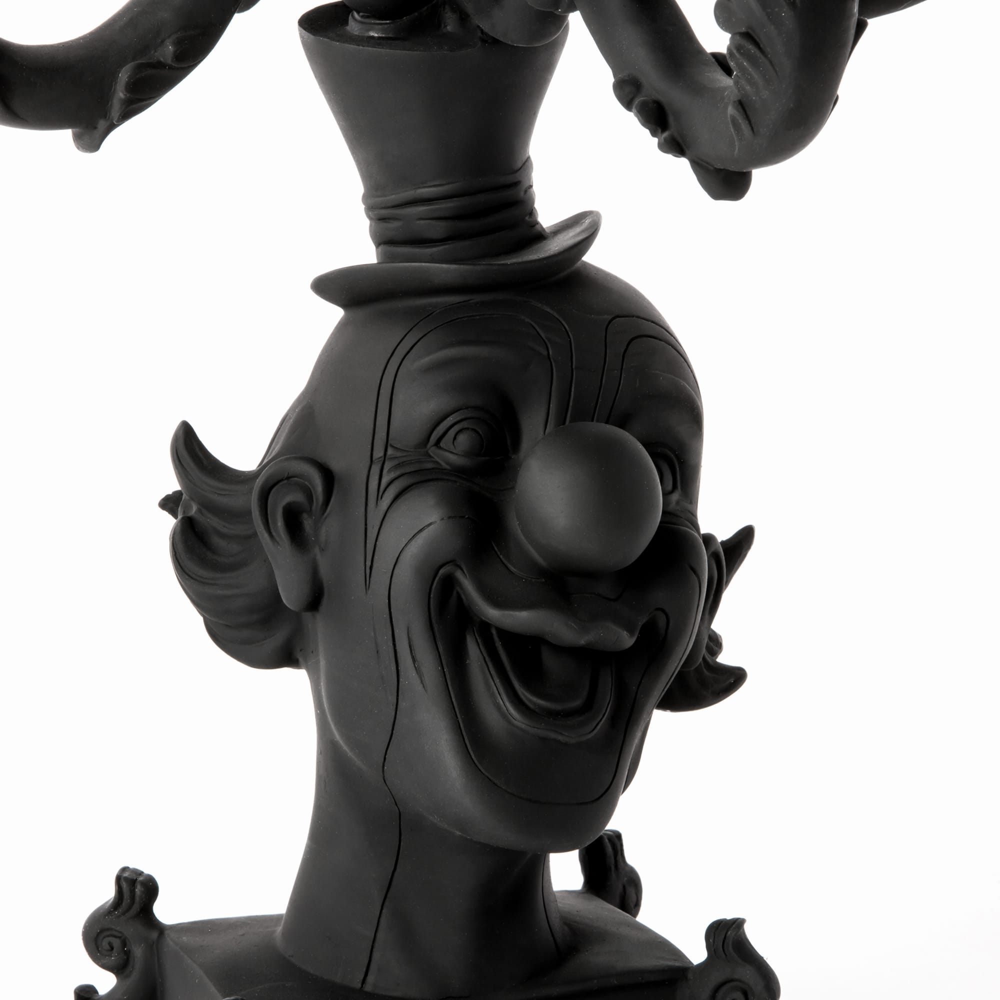 Candle Holder Seletti Clown Black Detail