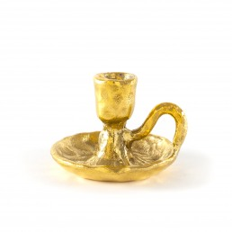 Candle Holder Seletti Fingers Brass
