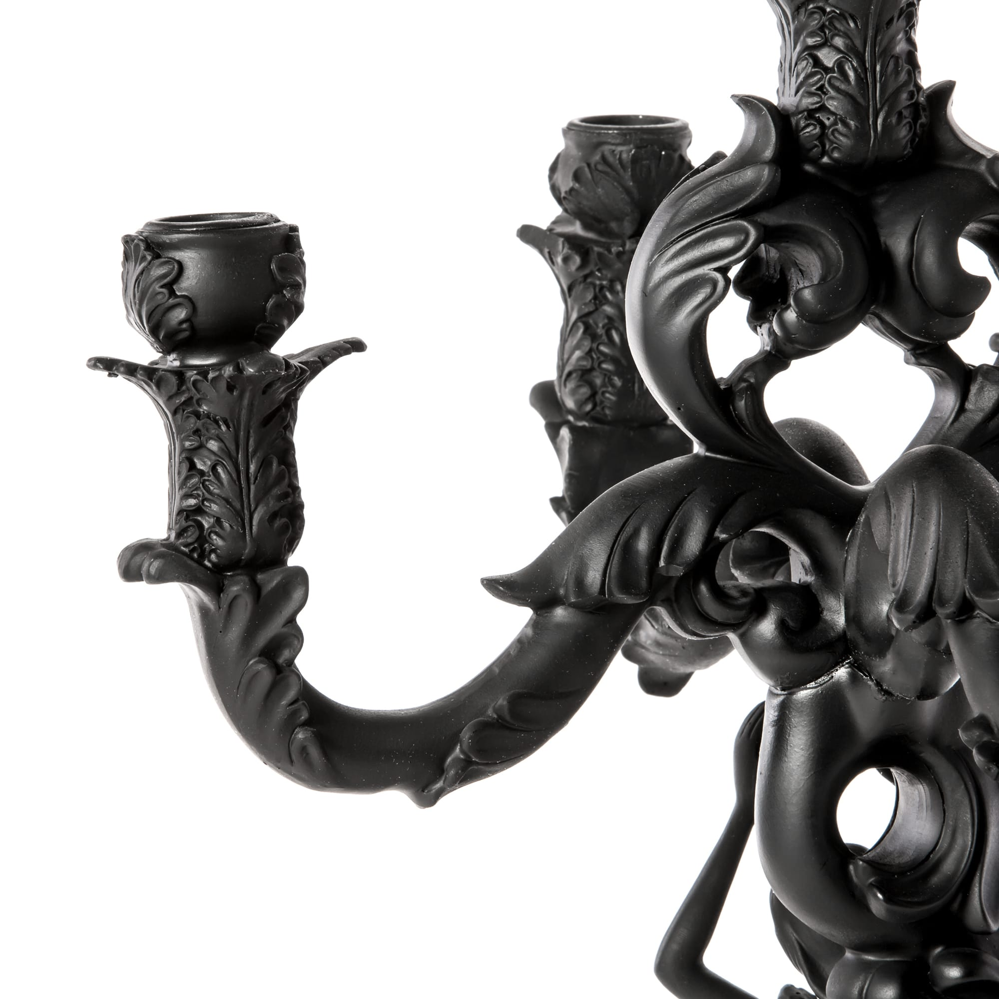 Candle Holder Seletti Mermaid Black Detail