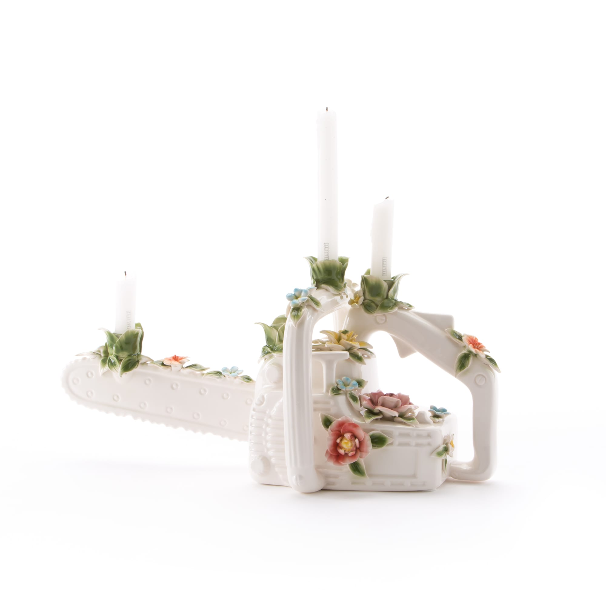 Candle Holder Seletti The Chainsaw Interior