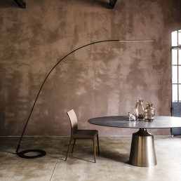 Cattelan Italia Lampo Floor Lamp in Interno