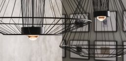 Cattelan Italia Ravel Ceiling Lamp Detail