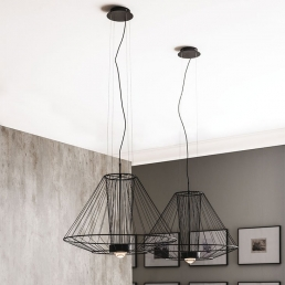 Cattelan Italia Ravel Ceiling Lamp Two