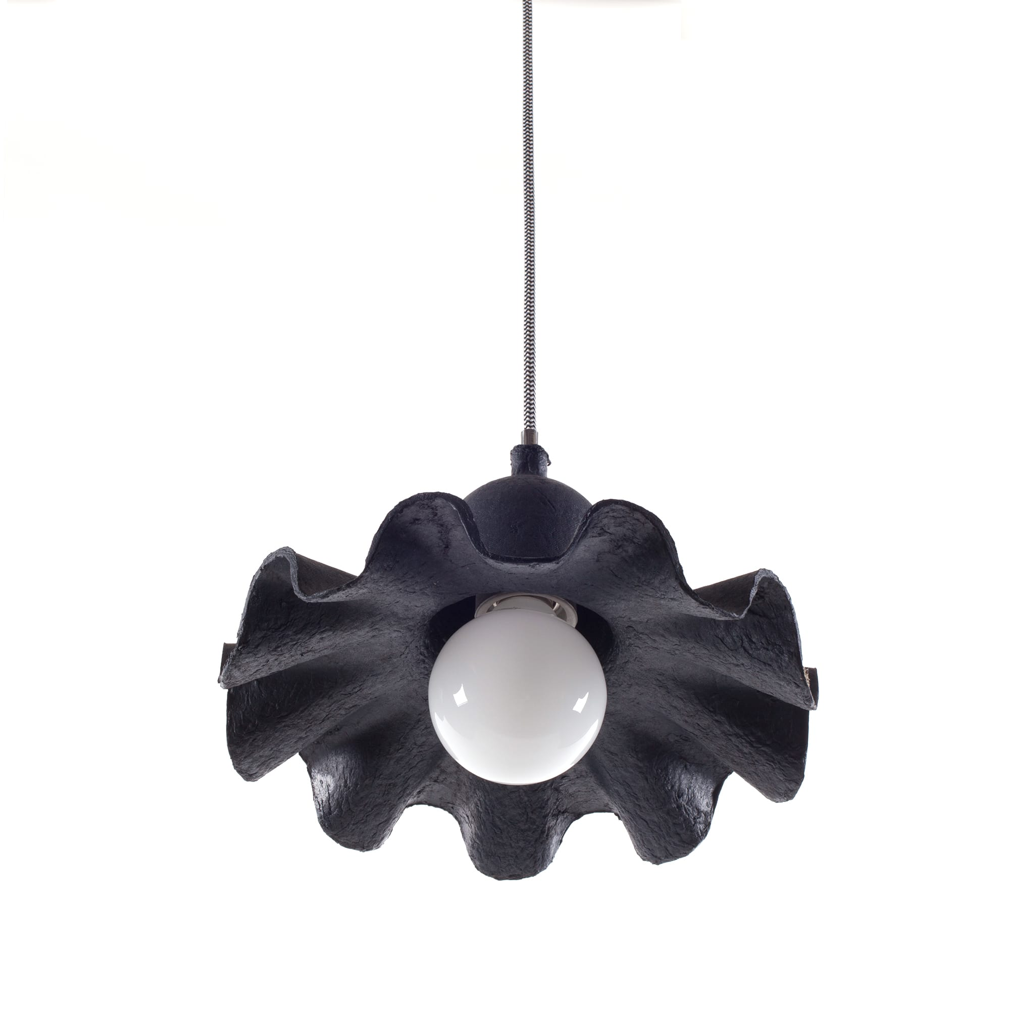 Ceiling Lamp Seletti Egg of Columbus Antracite Racurs 1