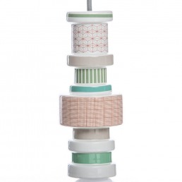 Ceiling Lamp Seletti Moresque Squared Detail 1