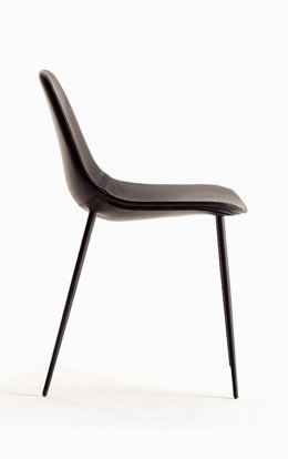 Chair Opinion Ciatti Mammamia Leather Chocolate Brown 2