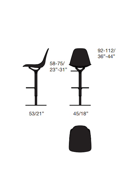 Chair Opinion Ciatti Mammamia Stool Product Specification