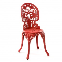 Chair Seletti Industry Collection Red Racurs