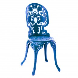 Chair Seletti Industry Collection Sky Blue Racurs