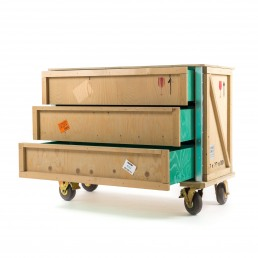 Chest of Drawers Wheels Seletti Export Como Open
