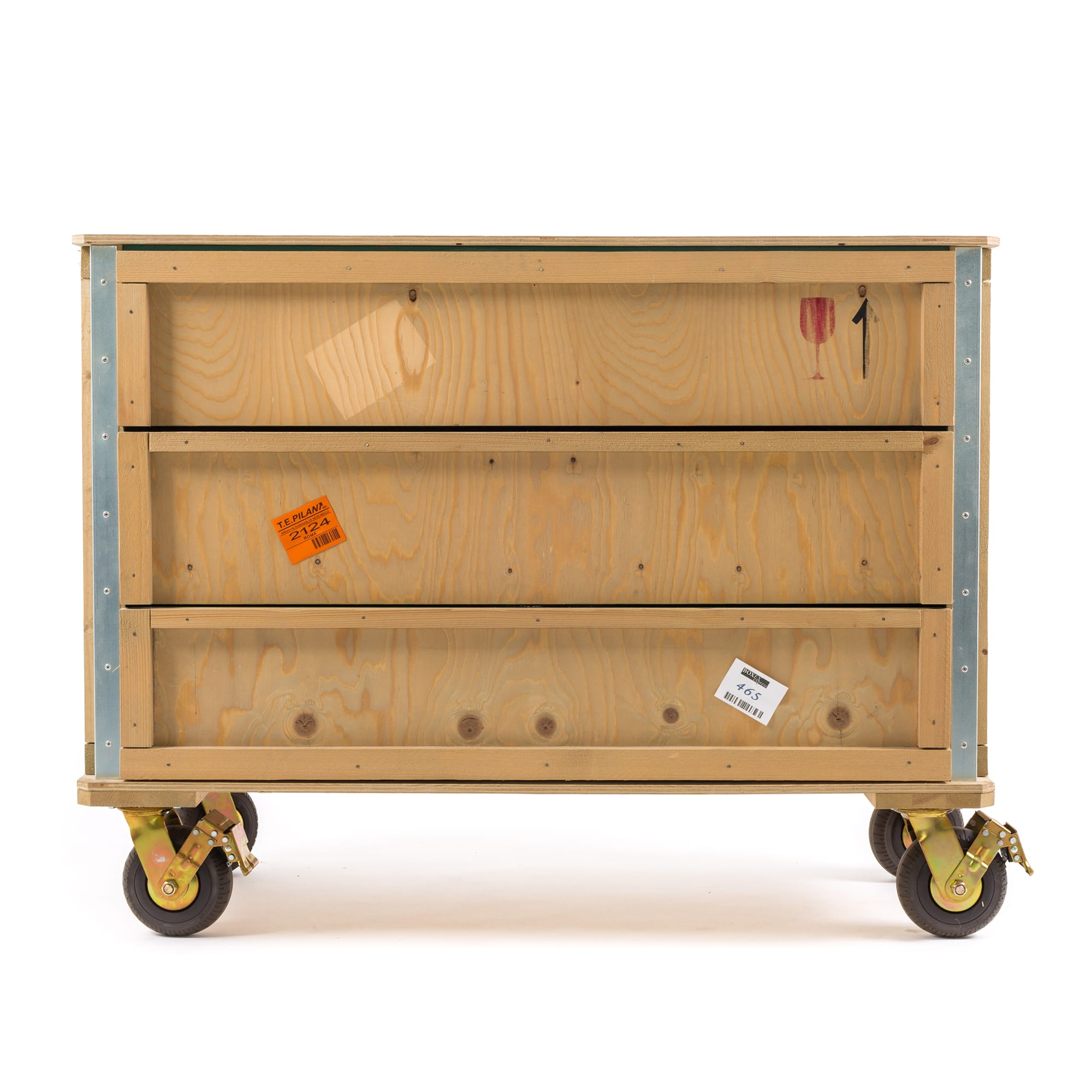 Chest of Drawers Wheels Seletti Export Como