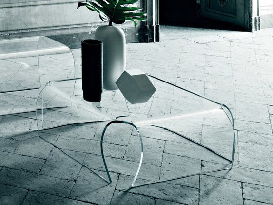 Coffee Table Bent by Glass Italia