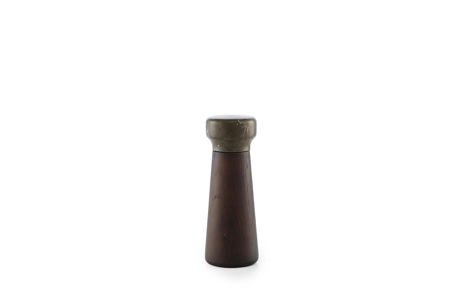 Craft Pepper Mill Small Stained Oak Black