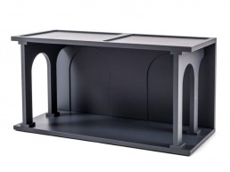 Double Bookcase Seletti Renaissance Anthracite