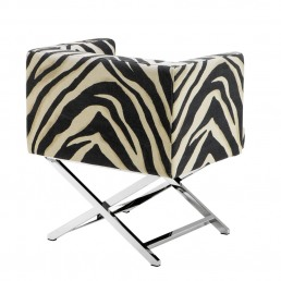 Eichholtz Dawson Chair Zebra Back