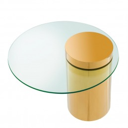 Eichholtz Equilibre Side Table Racurs Gold