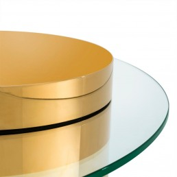 Eichholtz Equilibre Small Table Gold Detail