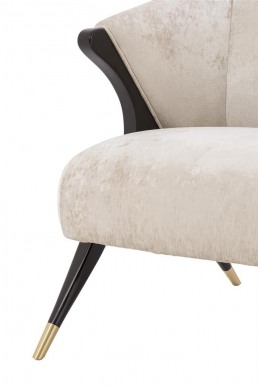 Eichholtz Pavone Chair Off white Detail