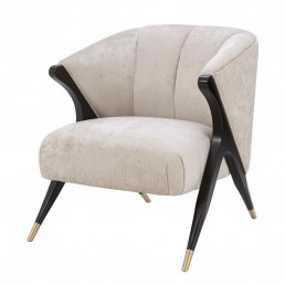 Eichholtz Pavone Chair Off white
