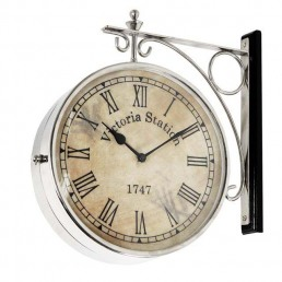 Eichholtz Station Clock Nickel
