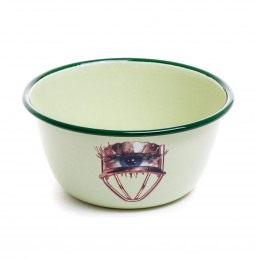 Enamel Bowl Seletti Eye