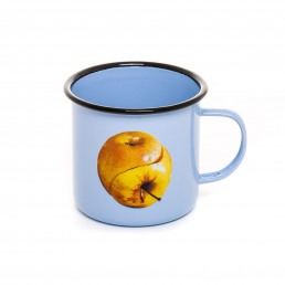 Enamel Mug Seletti Apple
