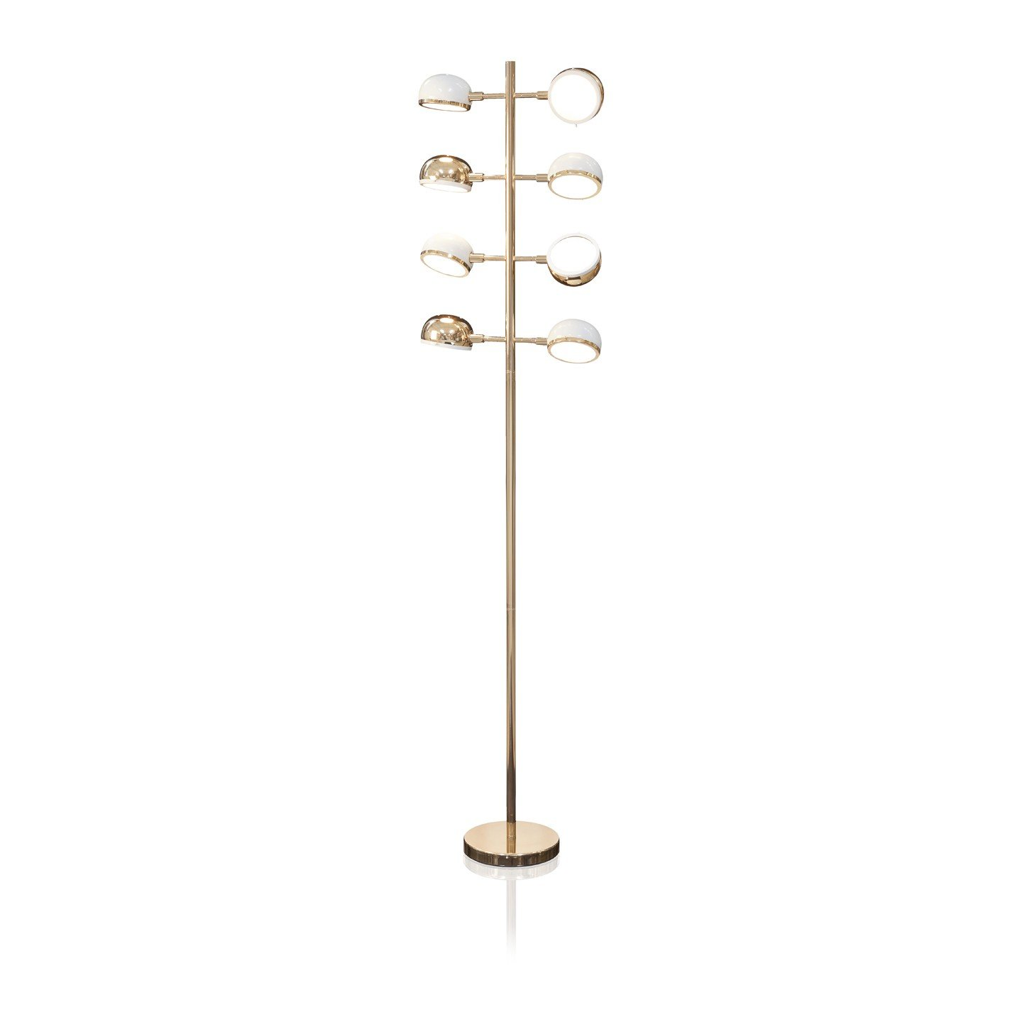 Floor Lamp Abhika Gold