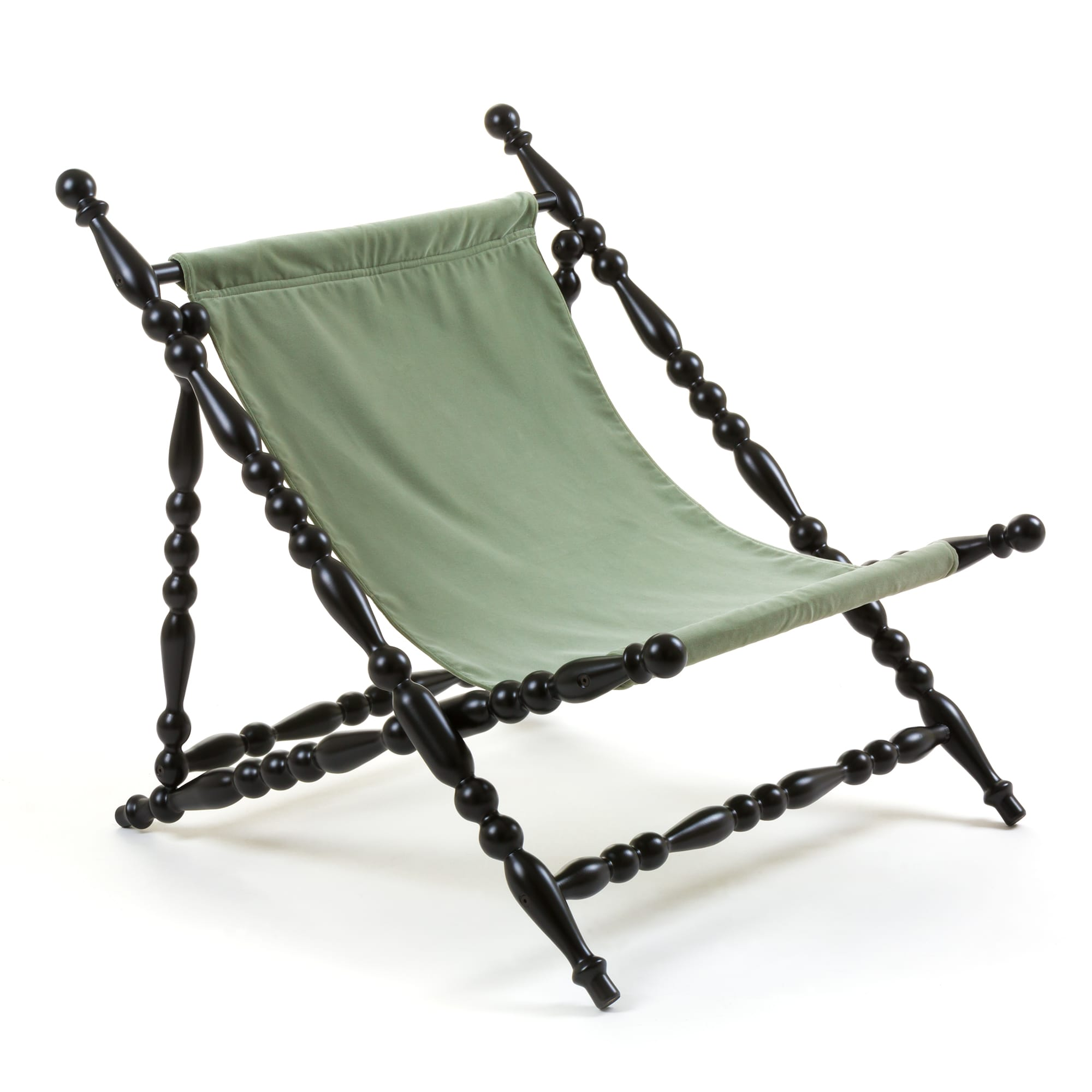 Foldable Deckchair Seletti Green