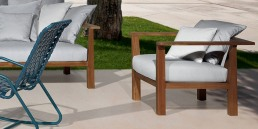 Gervasoni InOut 01 Lounge Chair Outdoor