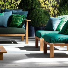 Gervasoni InOut 06 Lounge Chair Outdoor Two