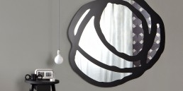 Gervasoni Mirror Sweet Black