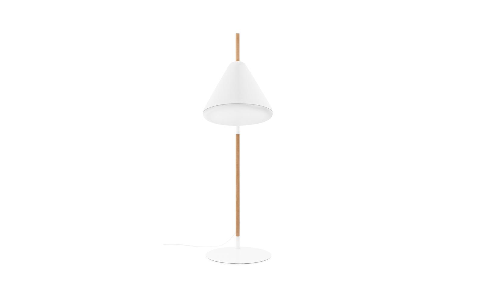 Hello Floor Lamp EU White Racurs