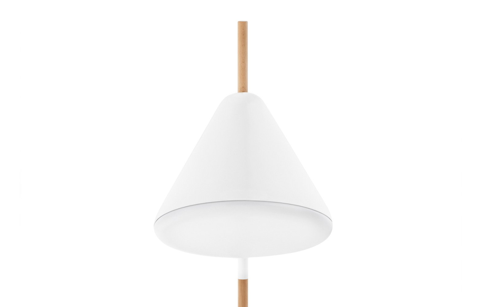 Hello FloorLamp White Front Detail NC