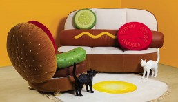 Hot Dog Sofa Burger Chair Collection